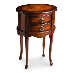 Whitley Plantation Cherry Oval Side Table by Butler Specialty Company 1589024