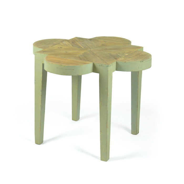 Jane Painted Wood Side Table - The Rustic Furniture Store