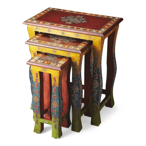 Butler Sasha Hand Painted Nesting Tables by Butler Specialty Company 1893290