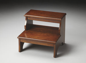 Melrose Chestnut Burl Step Stool by Butler Specialty Company 1922108