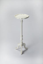 Chatsworth Cottage White Pedestal Plant Stand by Butler Specialty Company 1931222