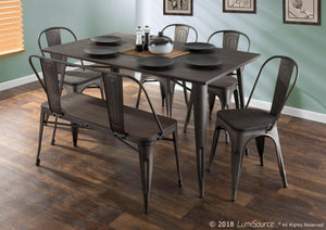 Oregon 6 Piece Dining Set