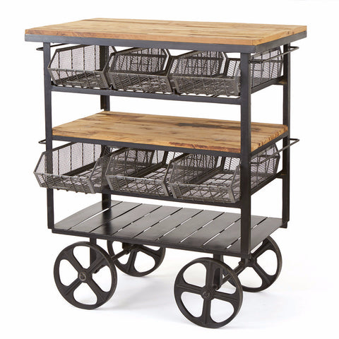 Delicatessen Cart - The Rustic Furniture Store