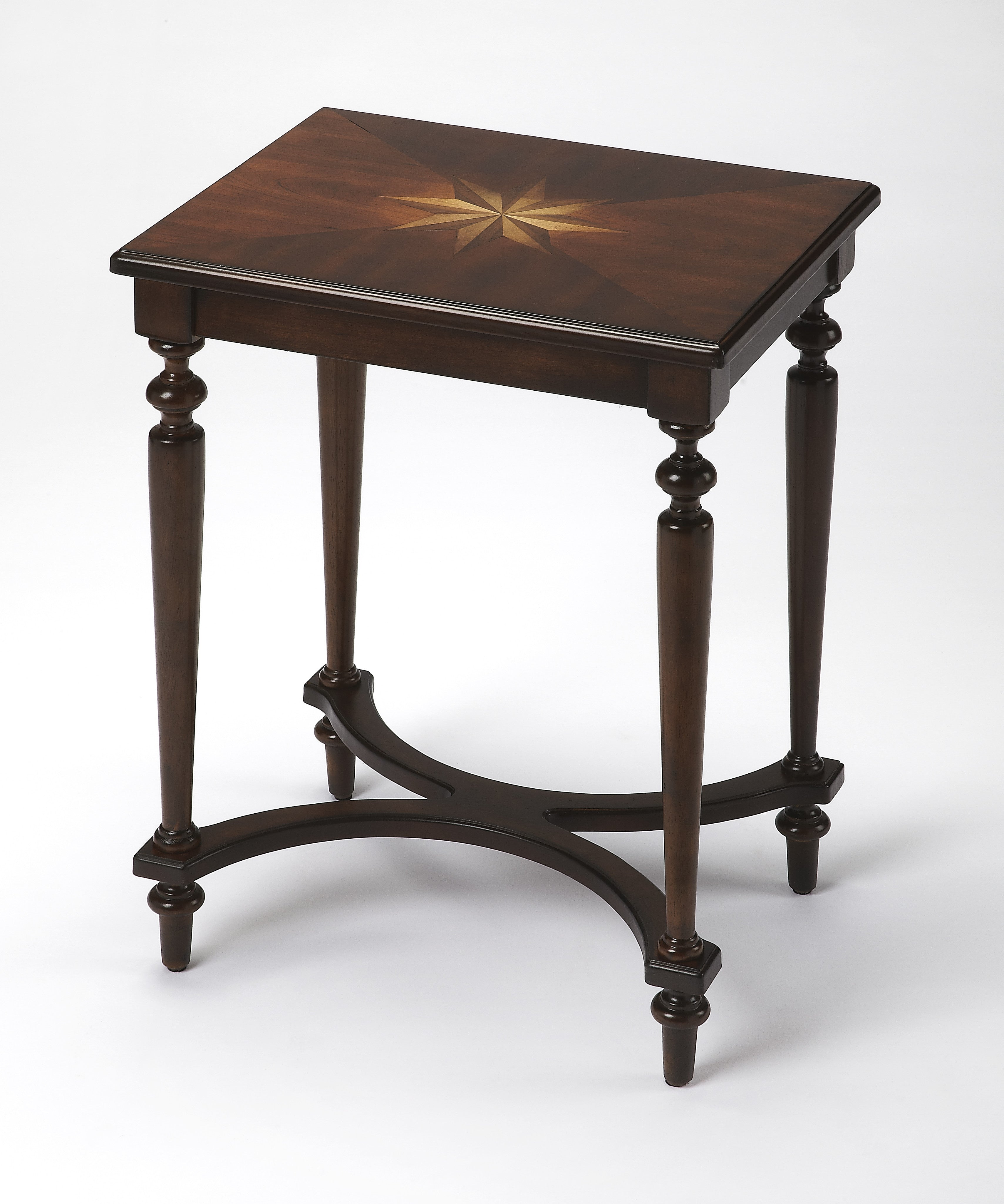 Tyler Plantation Cherry Accent Table By Butler Specialty Company 21160 The Rustic Furniture Store