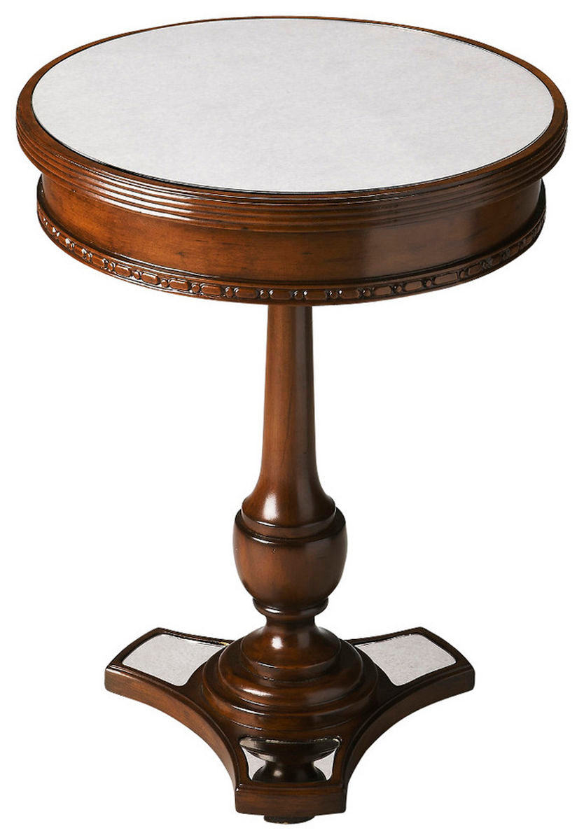 Butler Adele Mirror And Mahogany Accent Table by Butler Specialty Company 2217299