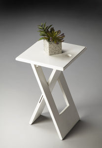 Hammond White Folding Table by Butler Specialty Company 2259020