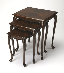 Thatcher Plantation Cherry Nest Of Tables by Butler Specialty Company 2306024