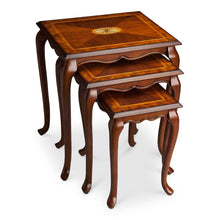 Thatcher Olive Ash Burl Nest Of Tables by Butler Specialty Company 2306101