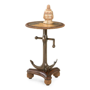 Butler Anchors Aweigh Round Accent Table