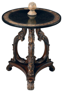 Butler Lafayette Round Stone Accent Table