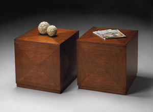 Summerlin Chestnut Burl Bunching Cube by Butler Specialty Company 2425108