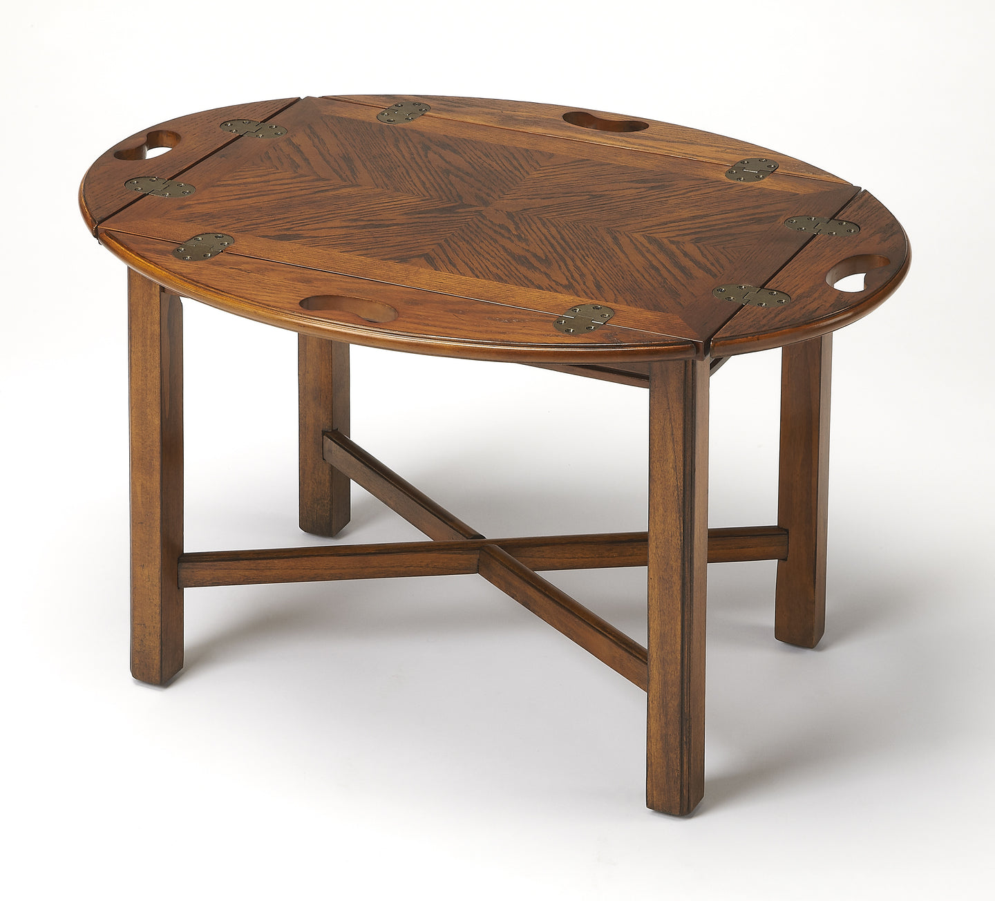 Carlisle Vintage Oak Butler Table by Butler Specialty Company 2427001