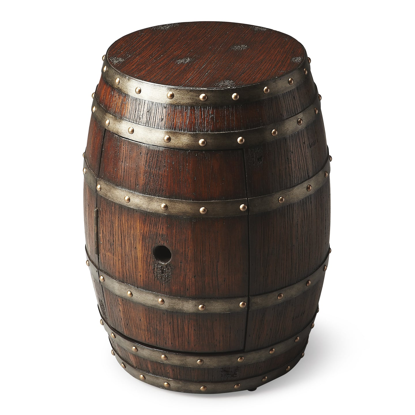Wine Barrel Table Calumet Rustic Style by Butler Specialty Company 2520120