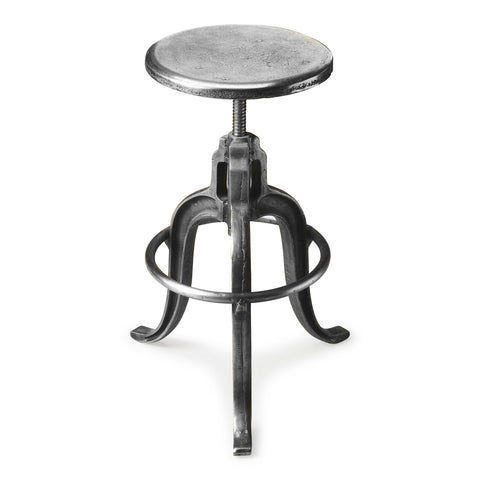Butler Parnell Adjustable Swivel Iron Bar Stool by Butler Specialty Company 2542025