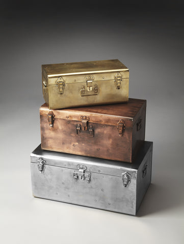 Spirit Iron Storage Trunk Set by Butler Specialty Company 2744016