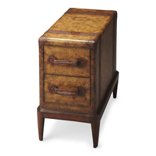 Columbus Old World Map Chairside Table by Butler Specialty Company 2834070