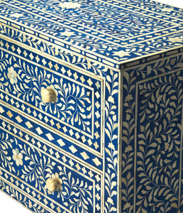 Blue Bone Inlay 2 Drawer Chest by Butler Specialty 2851070