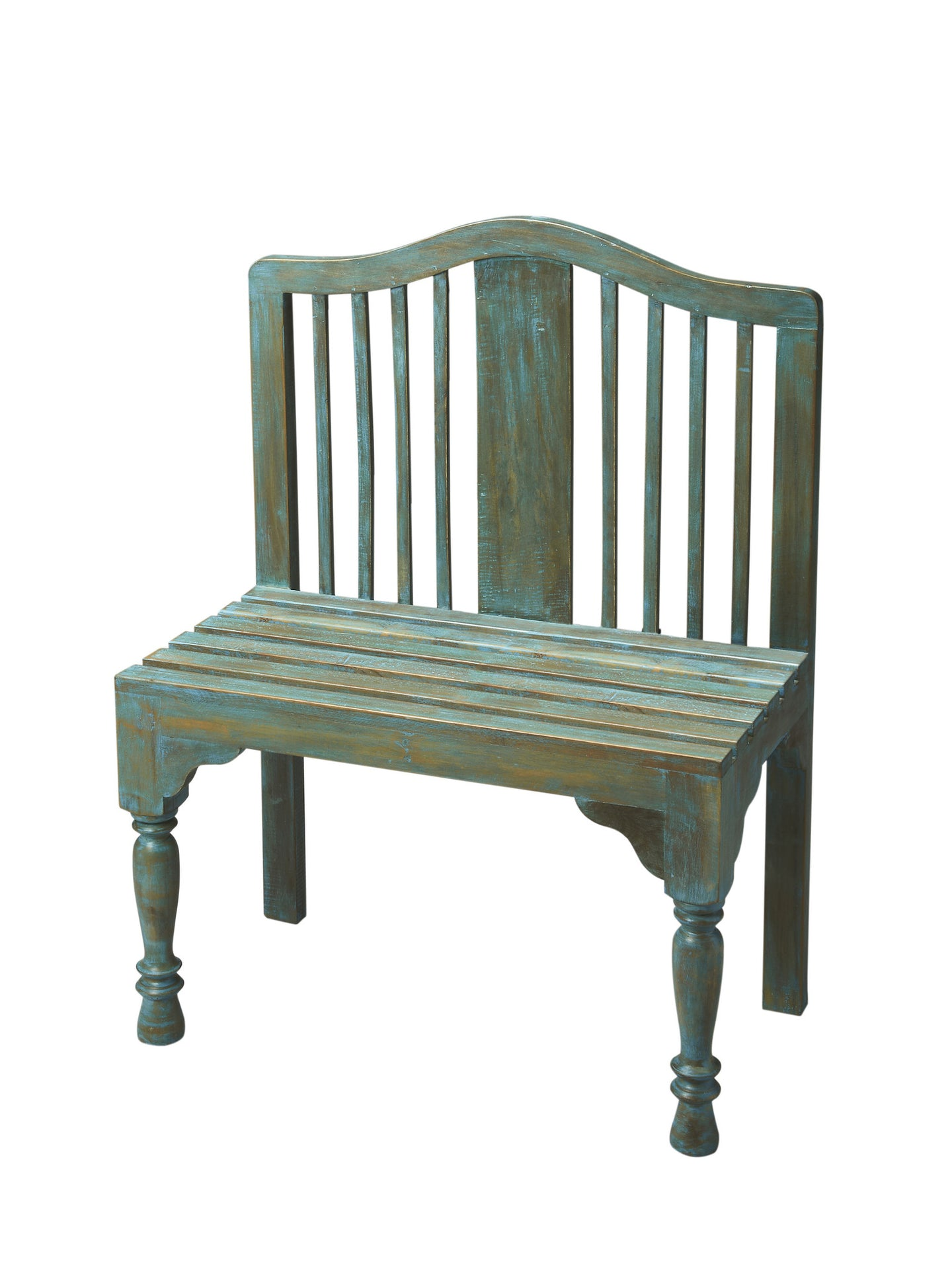 Butler Roseland Blue Solid Wood Bench by Butler Specialty Company 2853070