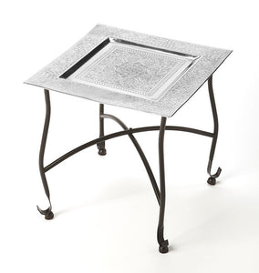 Bahia Metal Moroccan Tray Table BY Butler Specialty Company 2867025