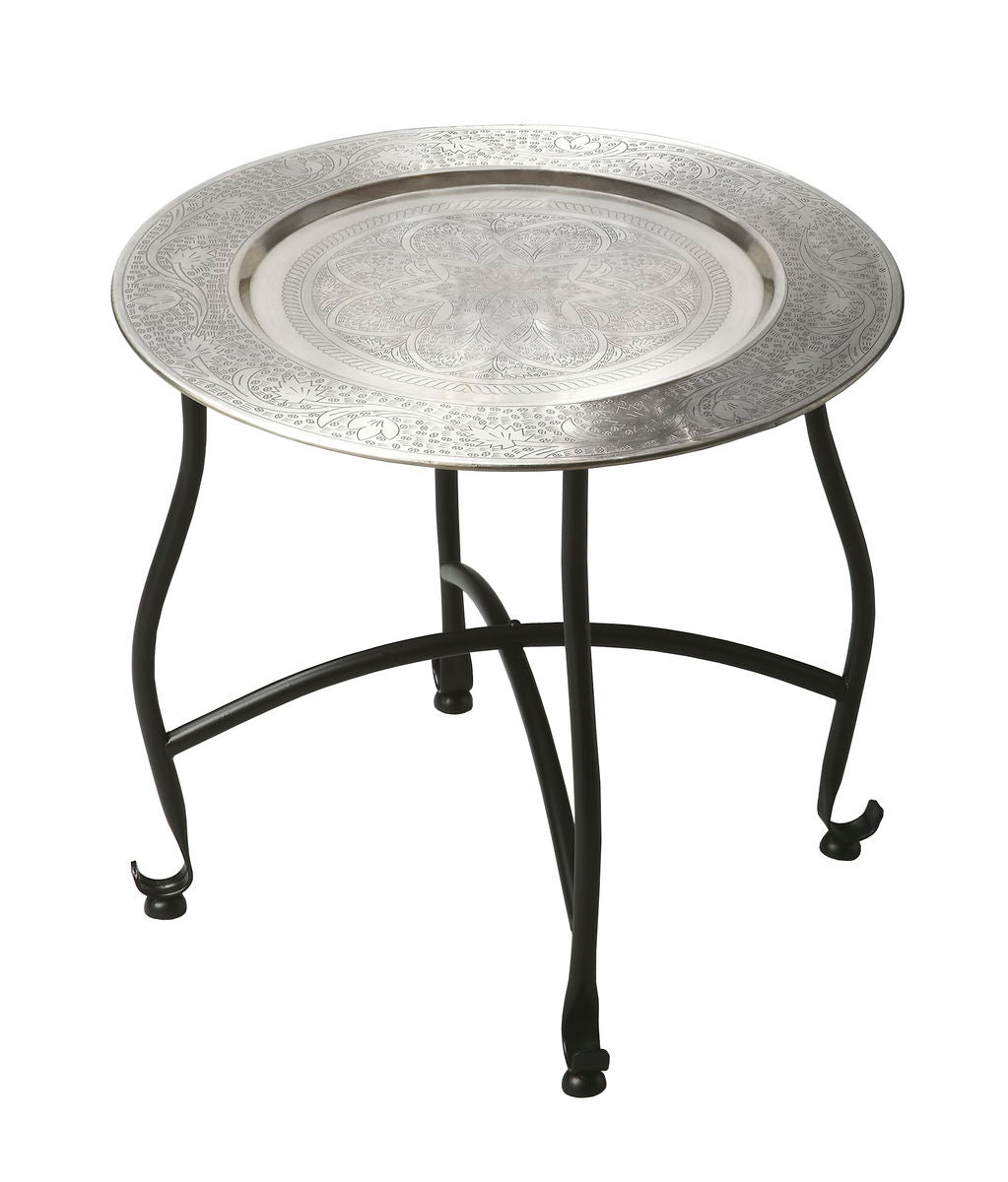 Moroccan Metal Tray Table by Butler Specialty Company 2871025