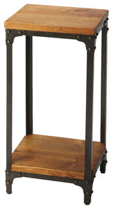 Grimsley Iron & Wood Pedestal Stand by Butler Specialty Company