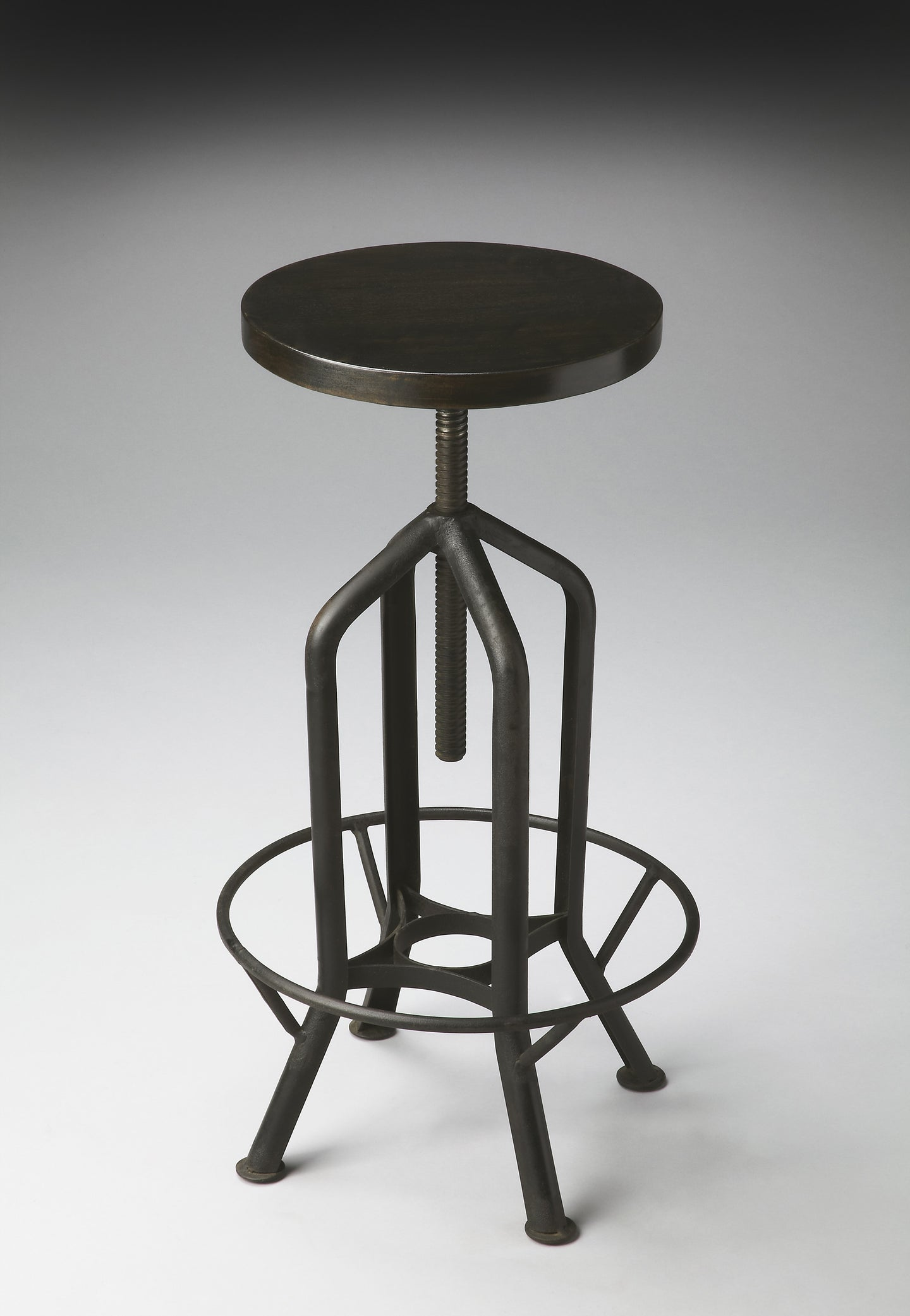 Hampton Iron Revolving Bar Stool by Butler Specialty Company