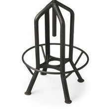 Butler Specialty Company Hampton Iron Revolving Black Industrial Bar Stool