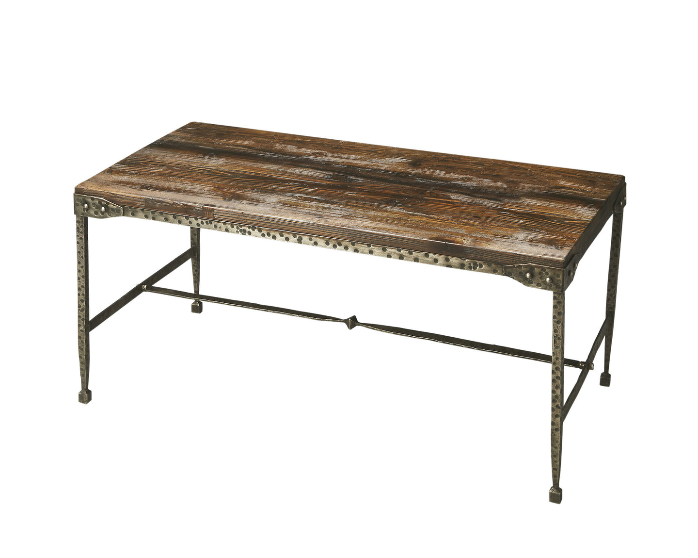 Butler Weathered Wood and Iron Cocktail Table by Butler Specialty Company 2884120