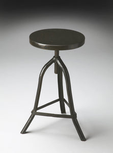 Fullerton Industrial Chic Revolving Stool by Butler Specialty Company