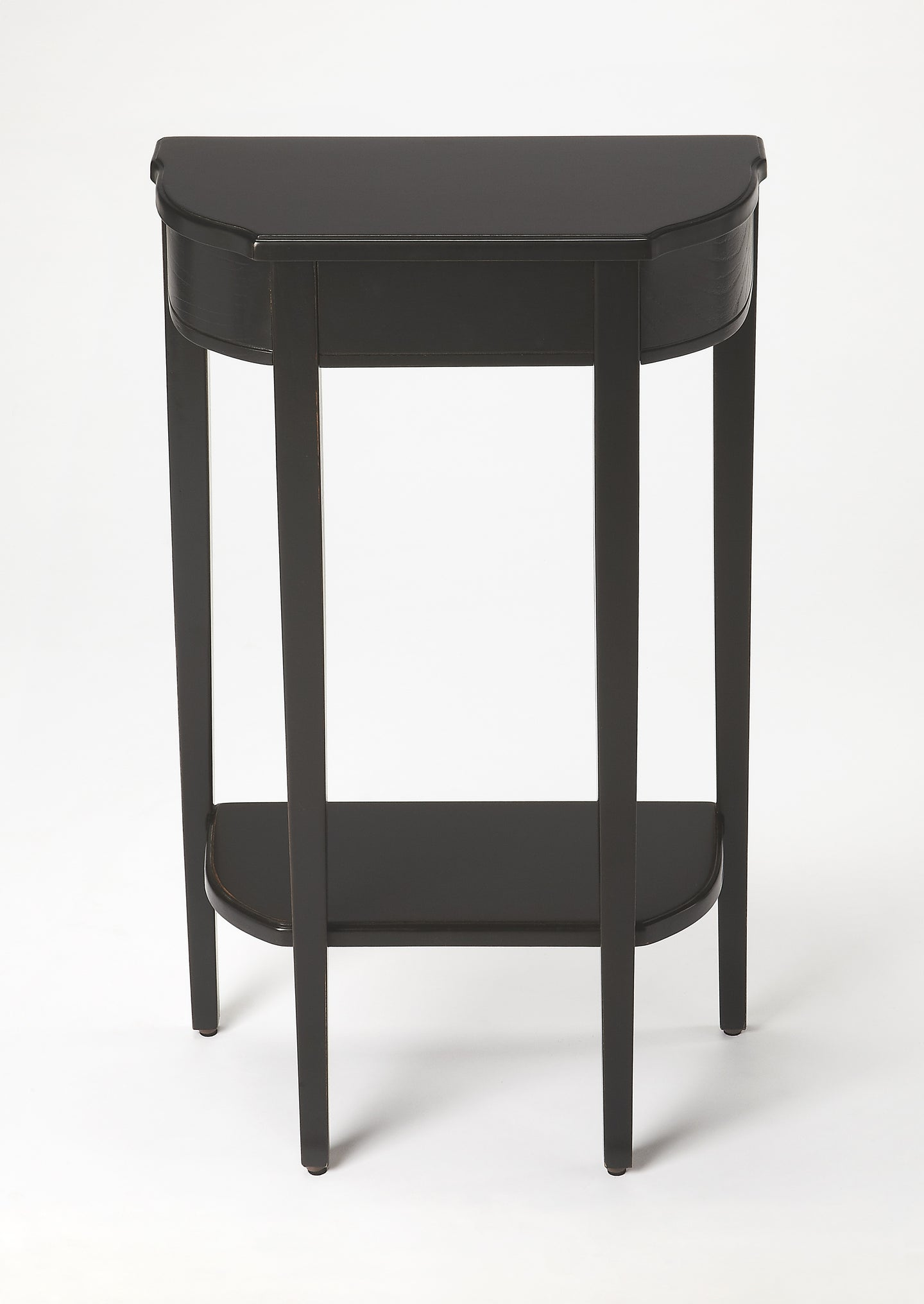 Wendell Black Licorice Console Table by Butler Specialty Company 3009111