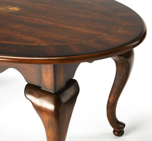 Grace Plantation Cherry Oval Cocktail Table by Butler Specialty Company 3012024