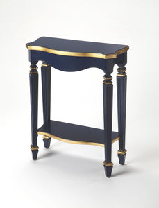Cheshire Navy & Gold Console Table by Butler Specialty Company 3020372