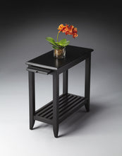 Irvine Black Licorice Chairside Table by Butler Specialty Company 3025111