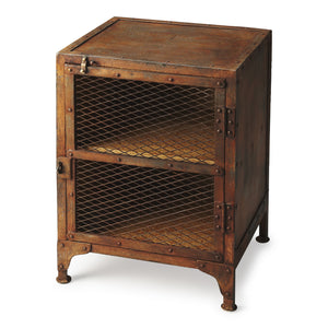 Butler Lucas Industrial Chic Chairside Chest and Locker by Butler Specialty Company 3132025