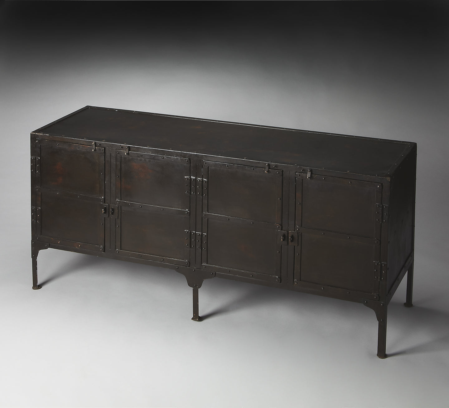 Owen Industrial Chic Console Cabinet by Butler Specialty Company