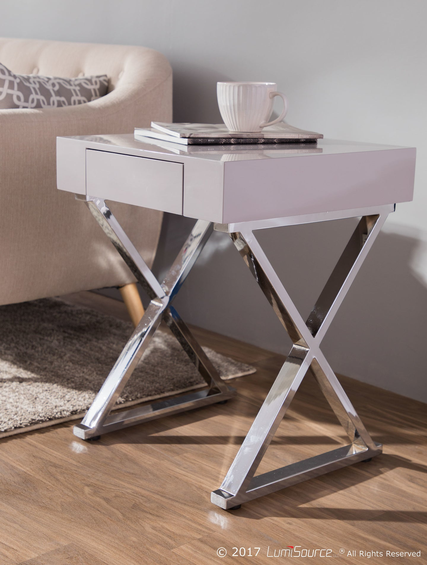 Luster Side Table