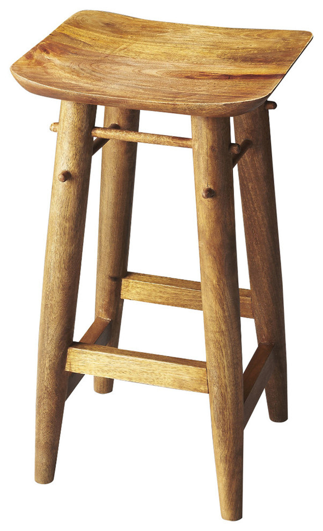 Butler Lotus Solid Wood Bar Stool by Butler Specialty Company 3337290
