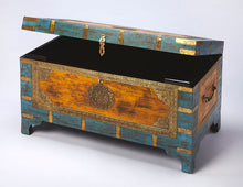 Butler Nador Painted Brass Inlay Storage Trunk by Butler Specialty Company 3365290