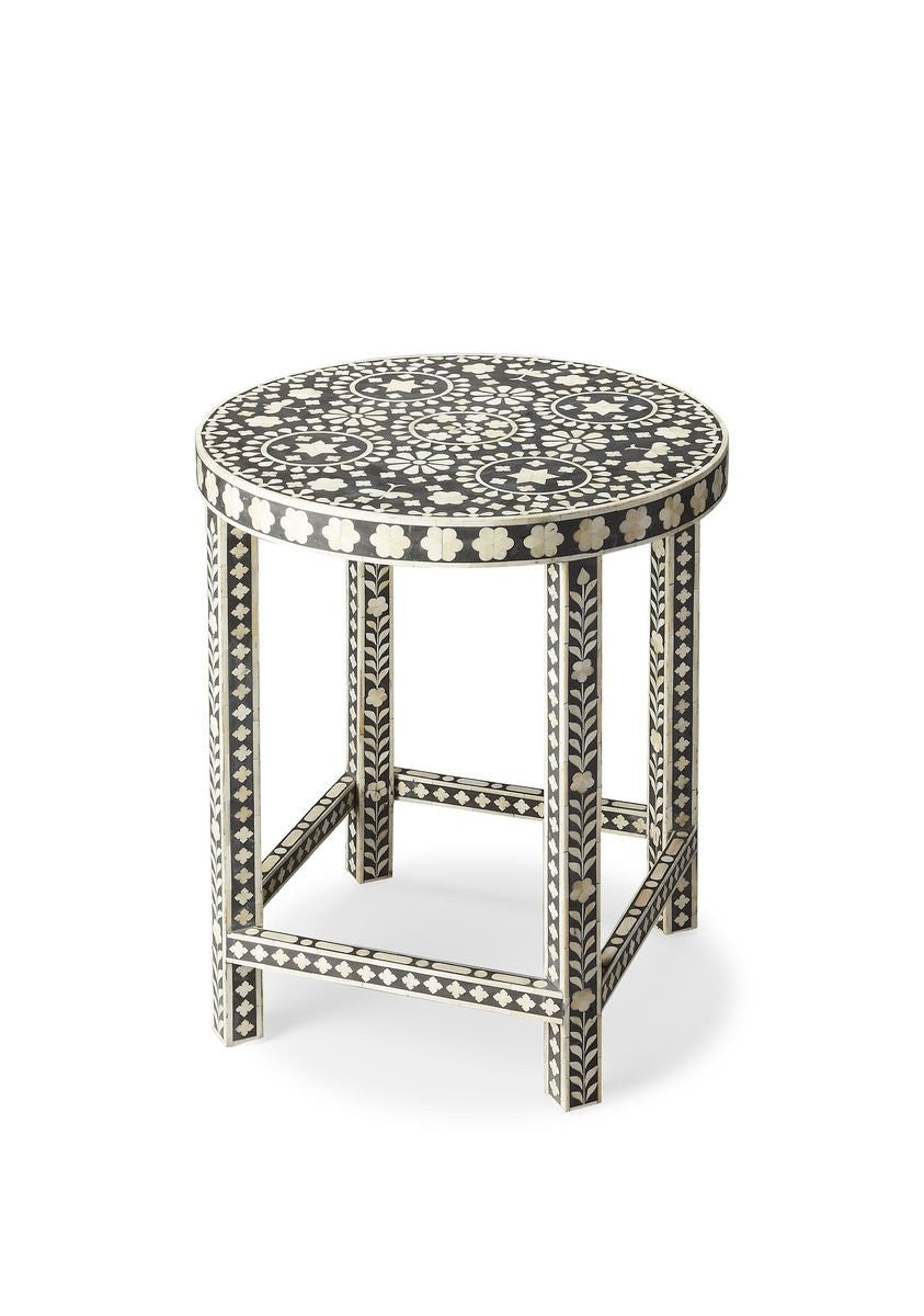 Butler Gillian Bone Inlay Accent Table