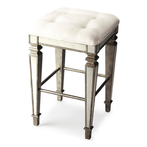Butler Celeste Mirrored Bar Stool