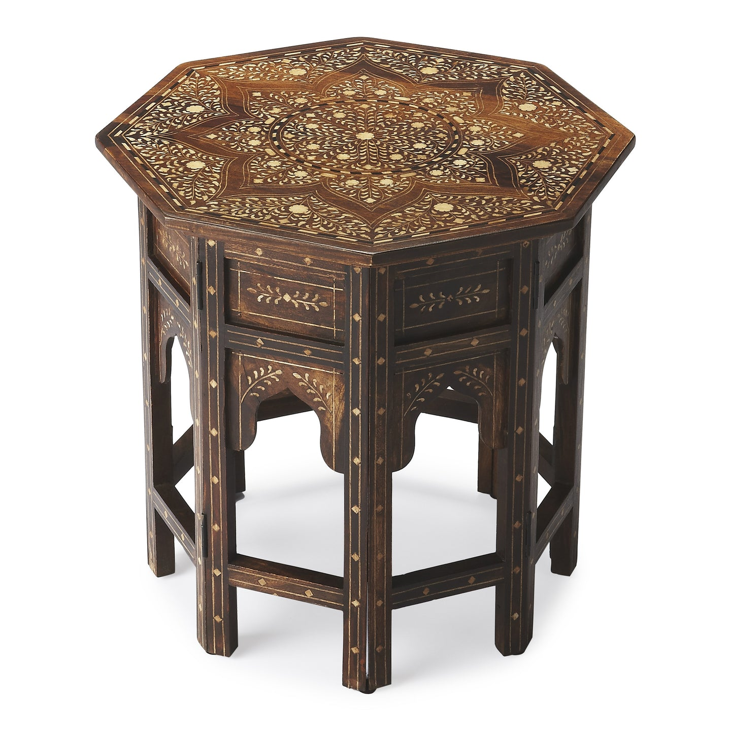 Butler Wood & Bone Inlay Accent Table by Butler Specialty Company 3596338