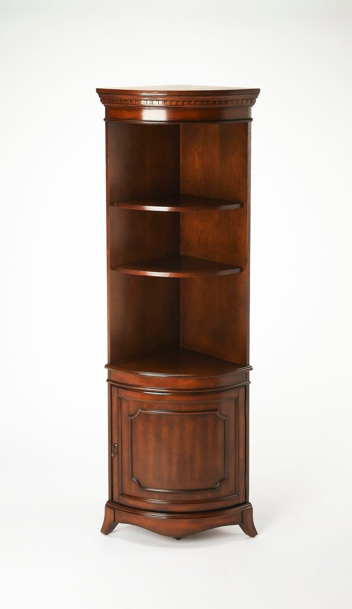 Butler Dowling Plantation Cherry Corner Cabinet