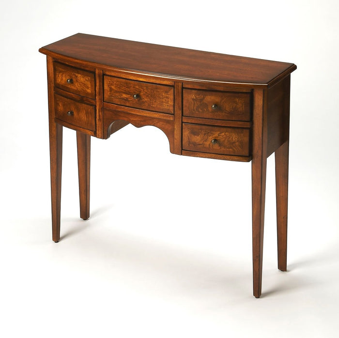 Butler Lawson Antique Cherry Console Table