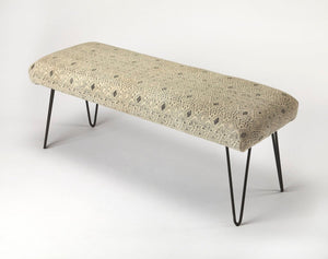 Butler Ansel Cotton Upholstered Bench