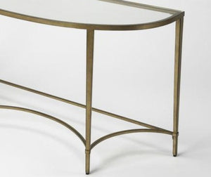 Butler Monica Gold Demilne Console Table