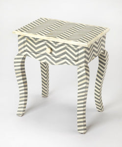 Butler Signoret Gray Bone Inlay End Table