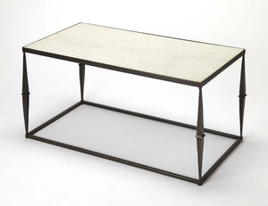 Butler Jacoby White Marble Coffee Table