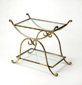 Butler Desdemona Gold Serving Table