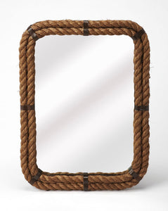 Butler Darby Rectangular Rope Wall Mirror