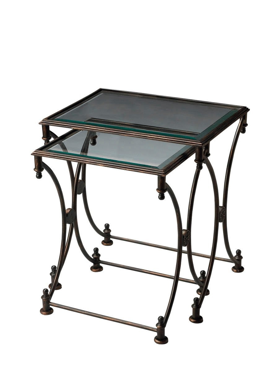 Butler Beverly Metal Nesting Tables
